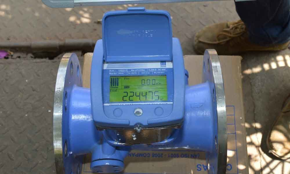 HMWSSB for automatic meters at all firms
