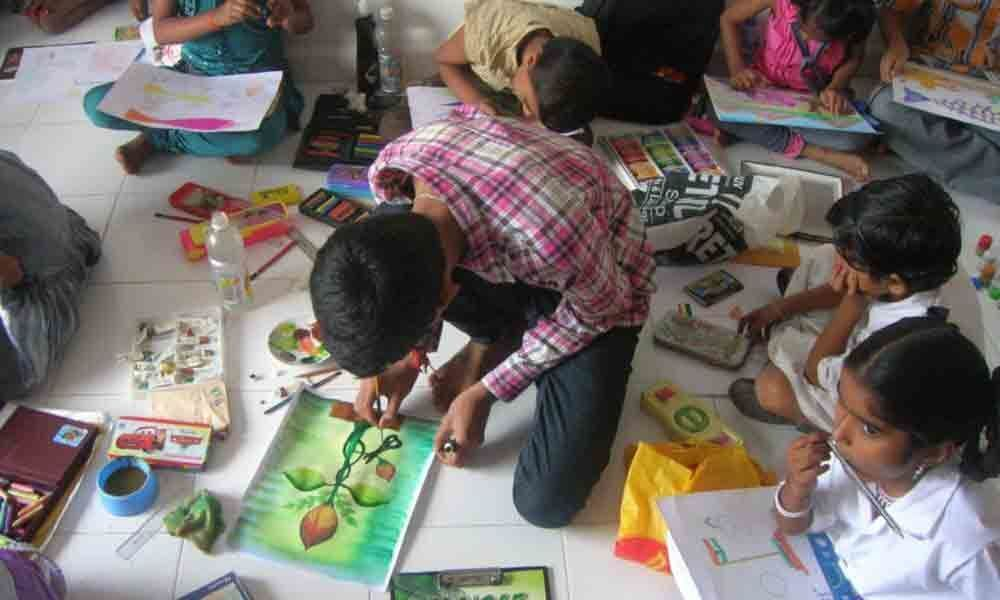 Art education is the way for holistic development