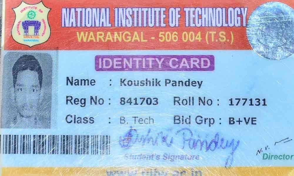 NIT student ends life in Warangal