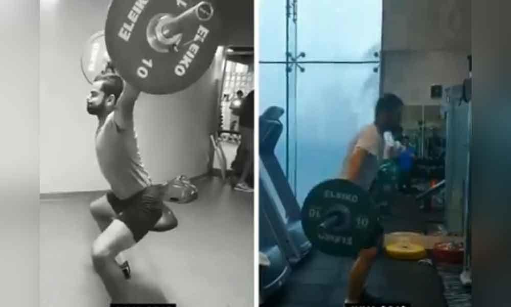 Captain Fit:Virat Kohlis progress at the gym is goals
