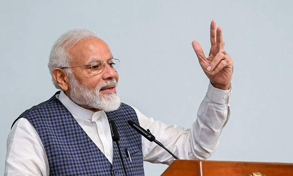 PM Narendra Modi addresses nation, says Centre has taken historic decision