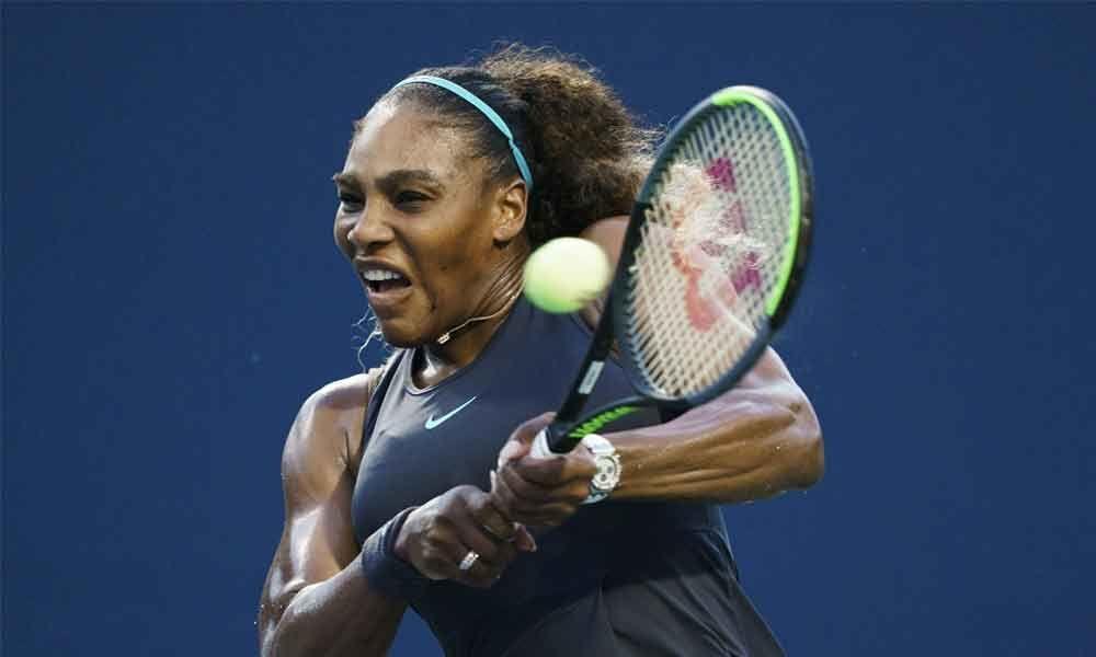 Serena wins first match since Wimbledon final, Osaka advances