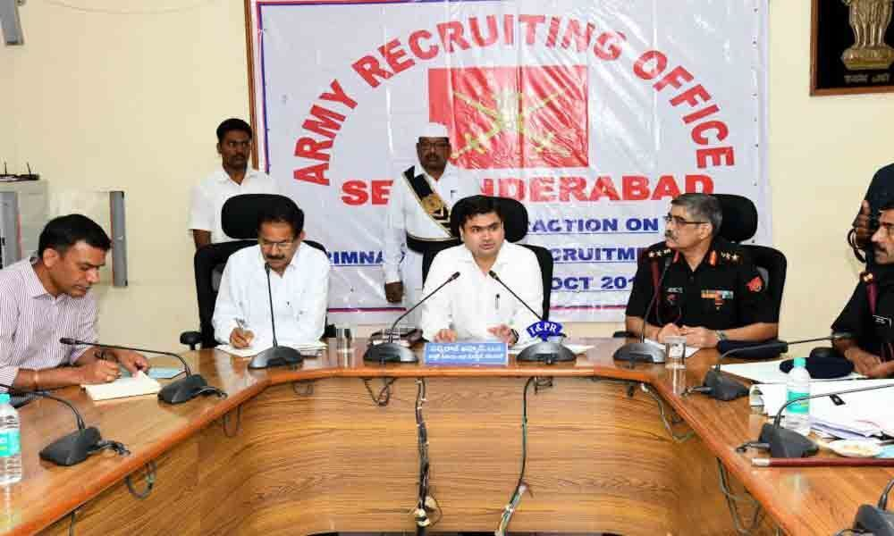 Army Recruitment Rally from October 7 in Karimnagar