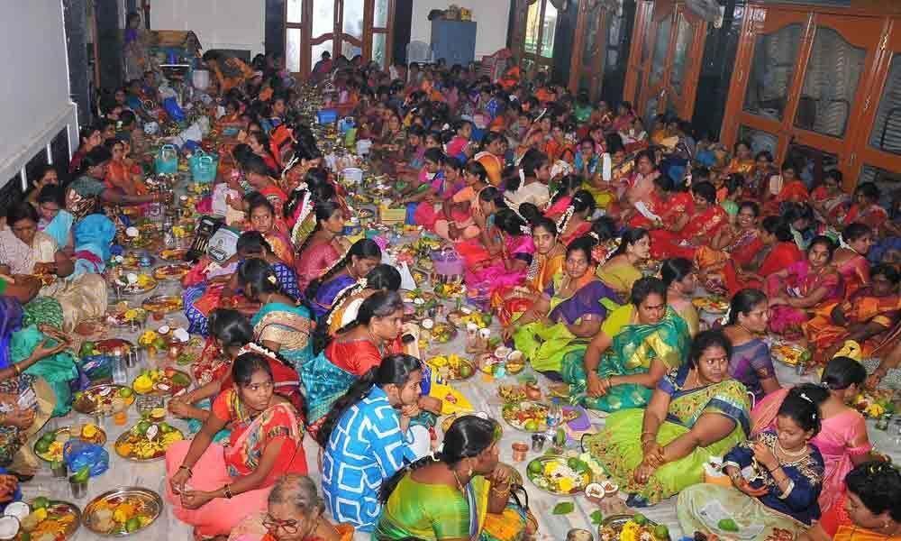 Special pujas performed to Goddess Sri Lakshmidevi