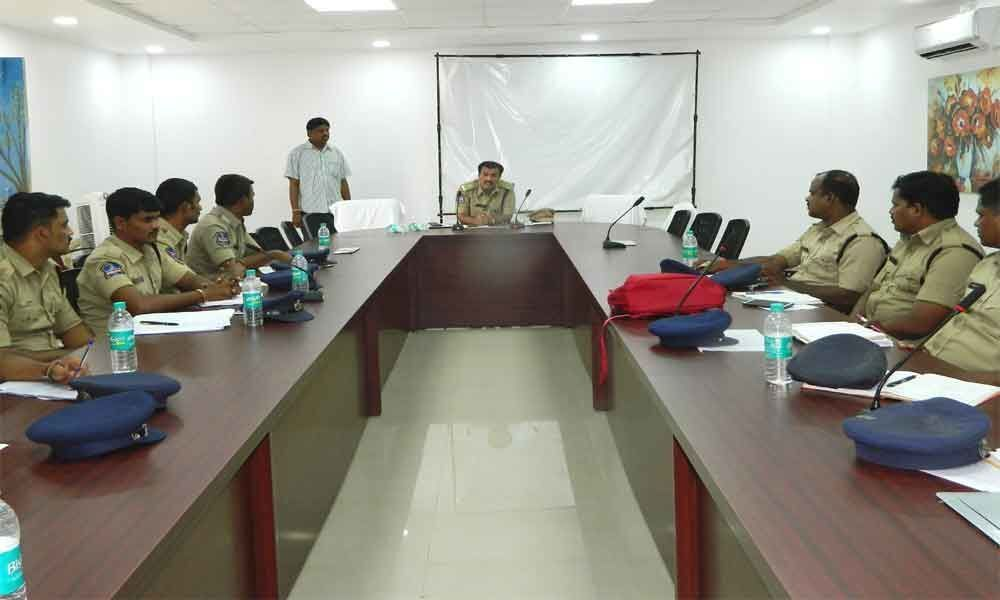 Training camp held for tech team of cops