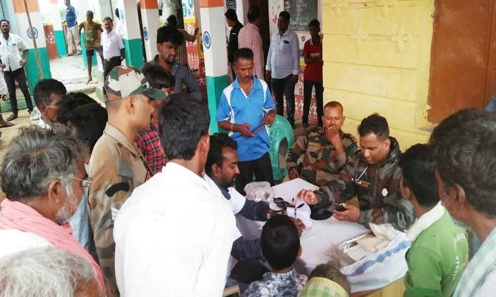 Army goes to rescue of flood-hit in Karnataka