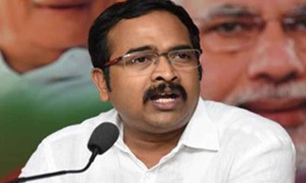 BJP questions KCR