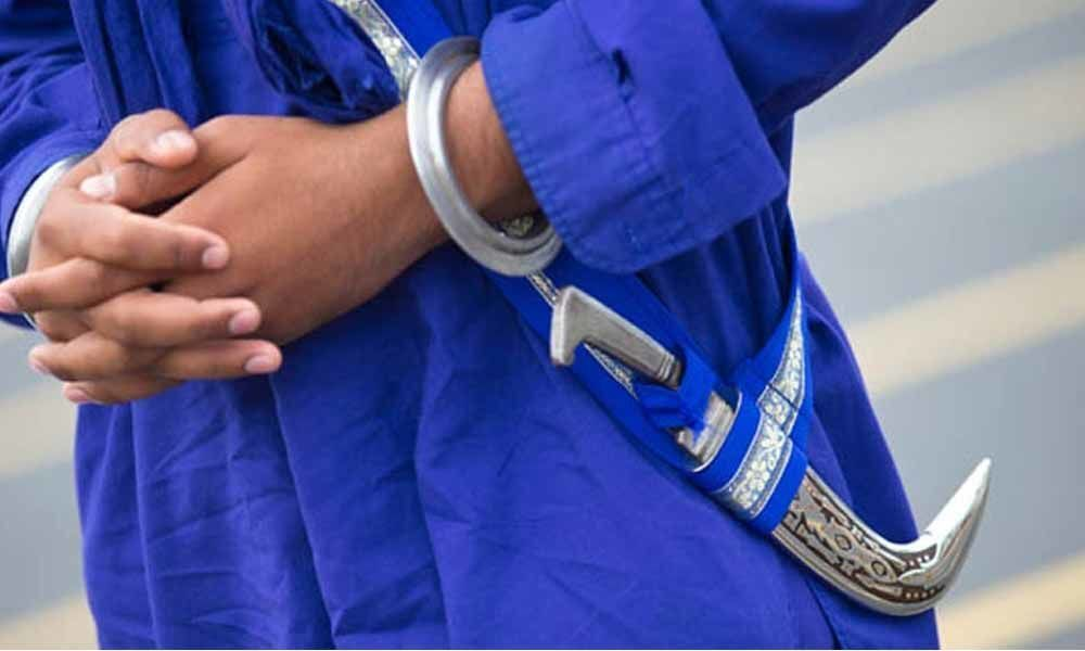 Sikh man detained for carrying kirpan in UK