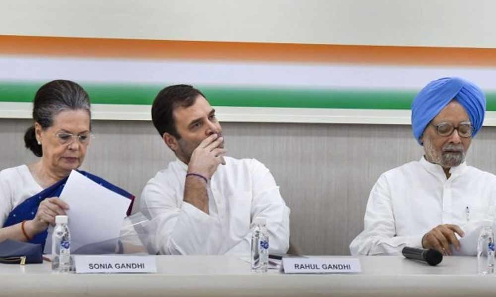 CWC to meet again, Sonia, Rahul opt out of selection process
