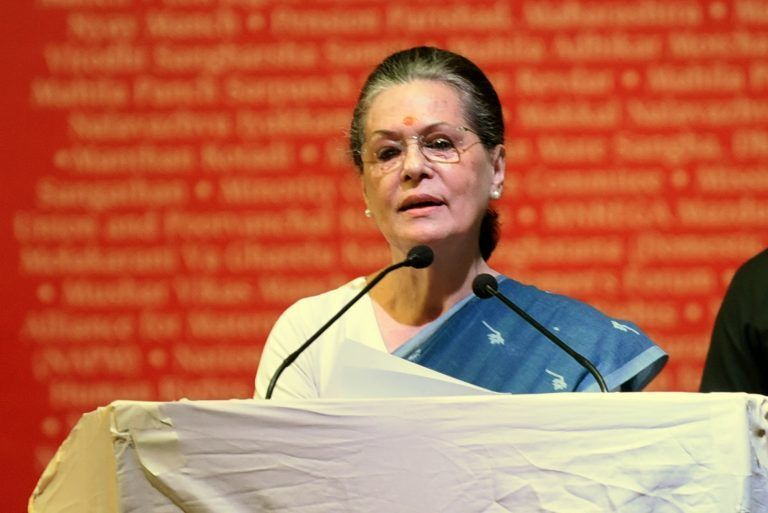 Live Updates: Sonia Gandhi is the new Congress President
