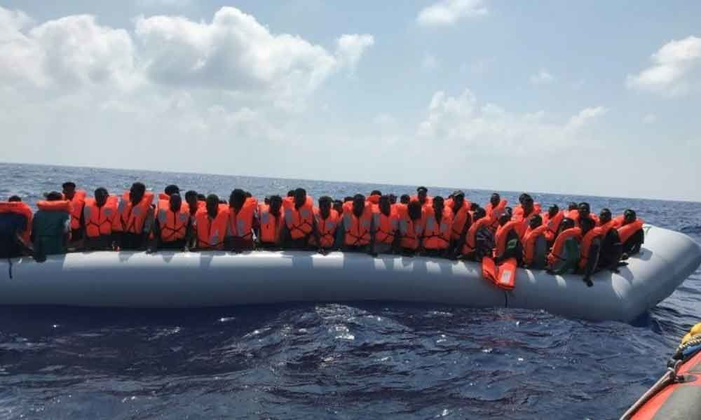 80 migrants rescued by charity ship off Libya: MSF
