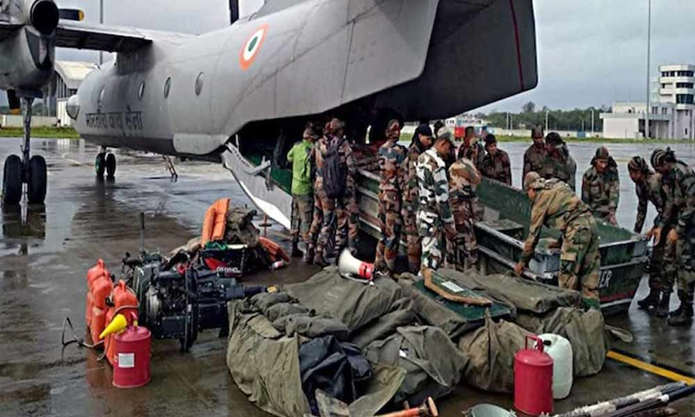 Army, Navy rev up rescue ops in flood-hit states