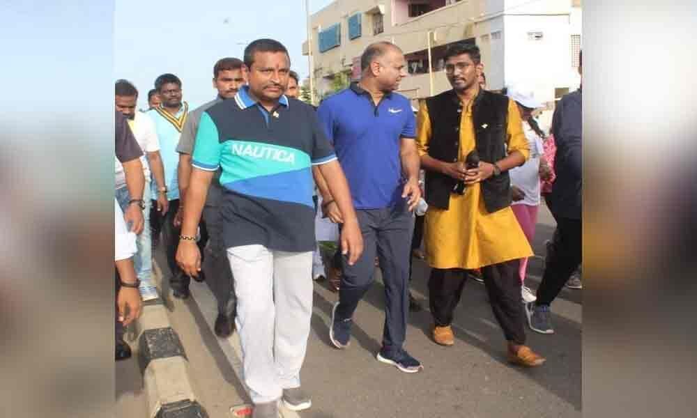 Freedom Run organised: Minister Vellampalli Srinivas