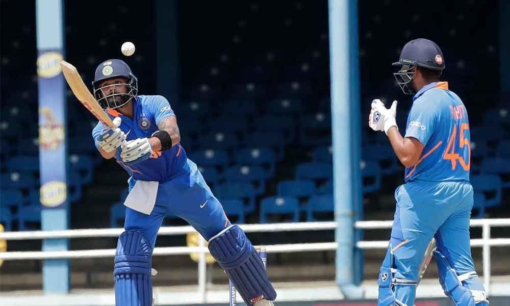 Kohli guides India to 279/7 against WI