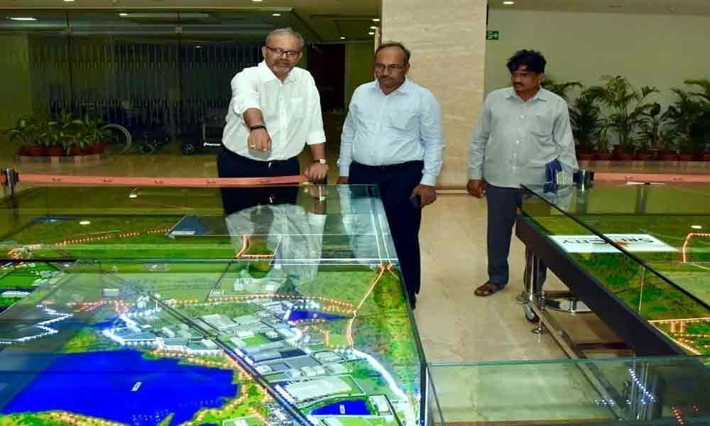 APG& B Corporation MD visits Sri City in Tirupati
