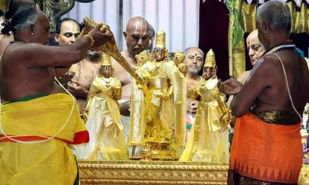 Pavithrotsavam commences at Srivari temple in Tirumala