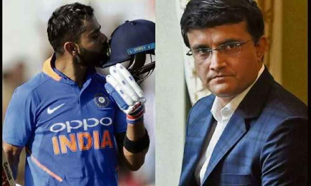 What a player: Ganguly calls Kohli