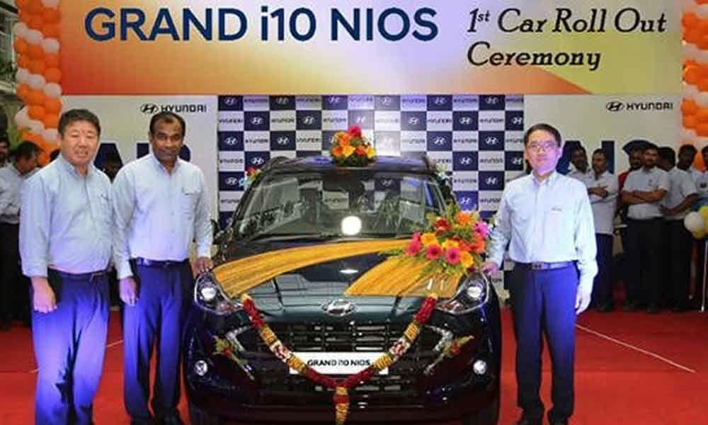 First Hyundai Grand i10 NIOS rolls out