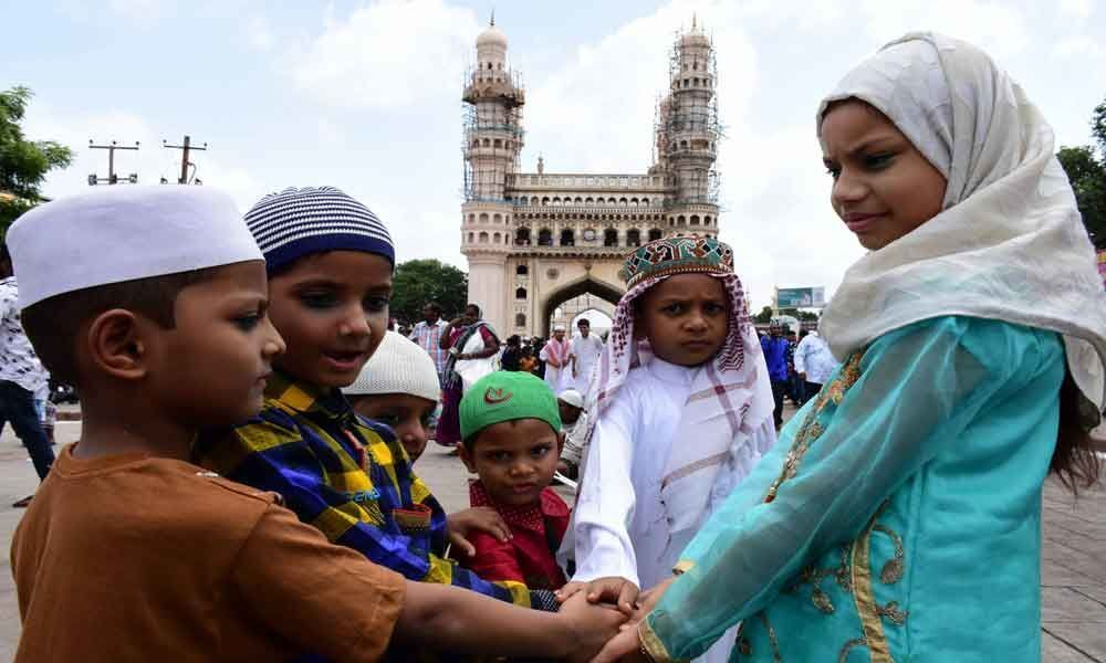 Bakrid celebrated on grand scale in city