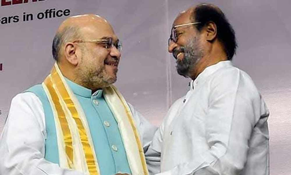 Who snatched rights can be Krishna-Arjuna? Cong slams Rajinikanth for backing PM