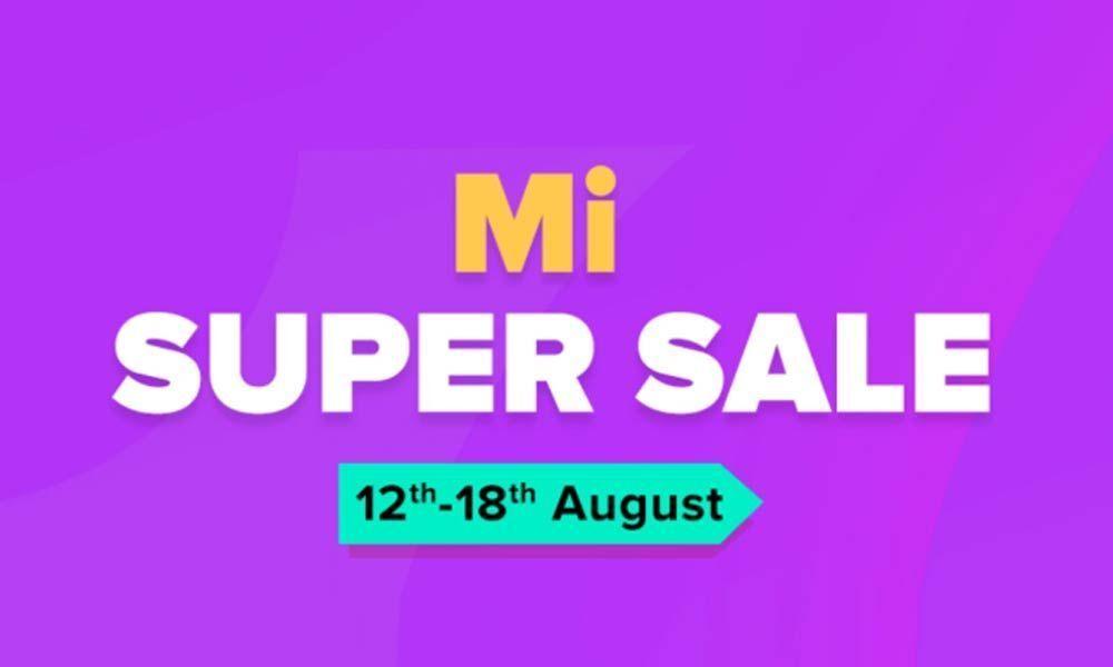 Mi Super Sale is Back