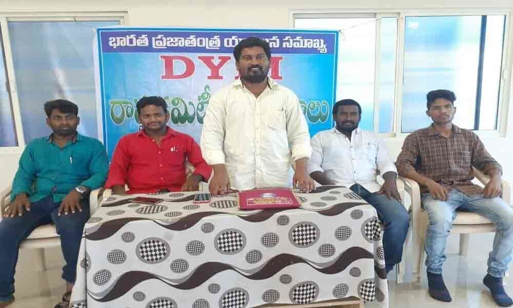 Save Constitution campaign by DYFI on I-Day