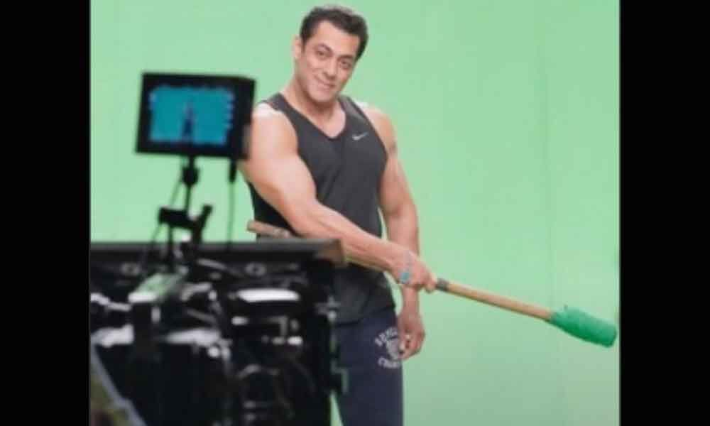 Salman shoots promo for Bigg Boss 13