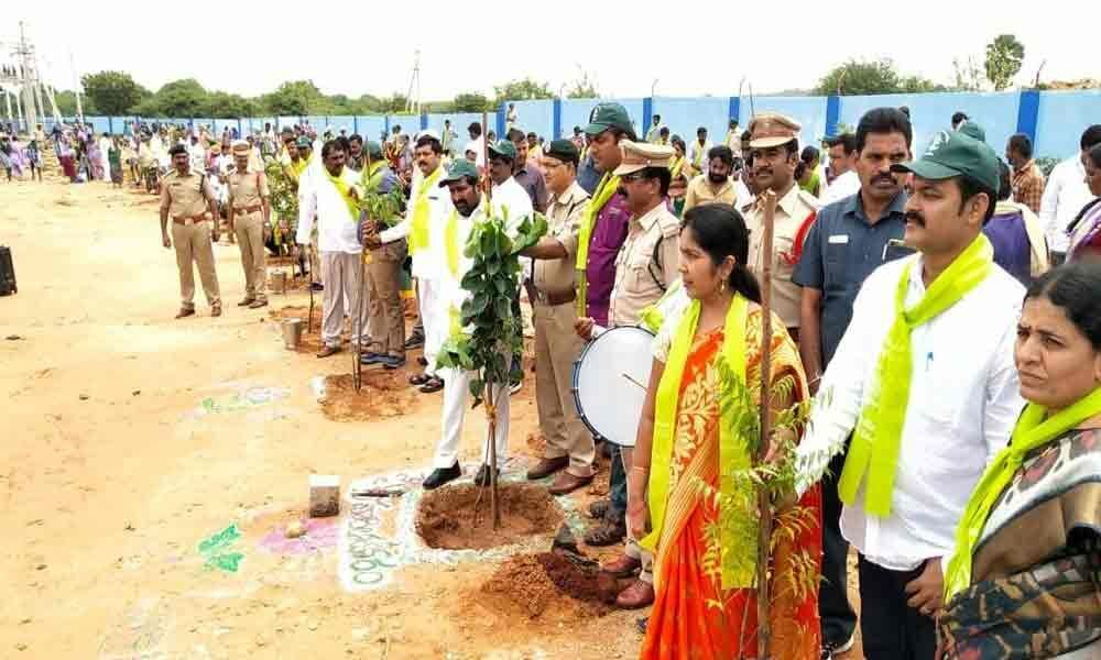 Minister Jagadish exhorts people to make Suryapet greenest district