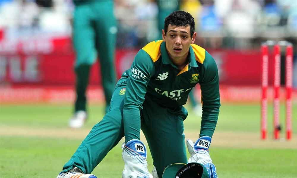 De Kock to lead SA in T20I series against India