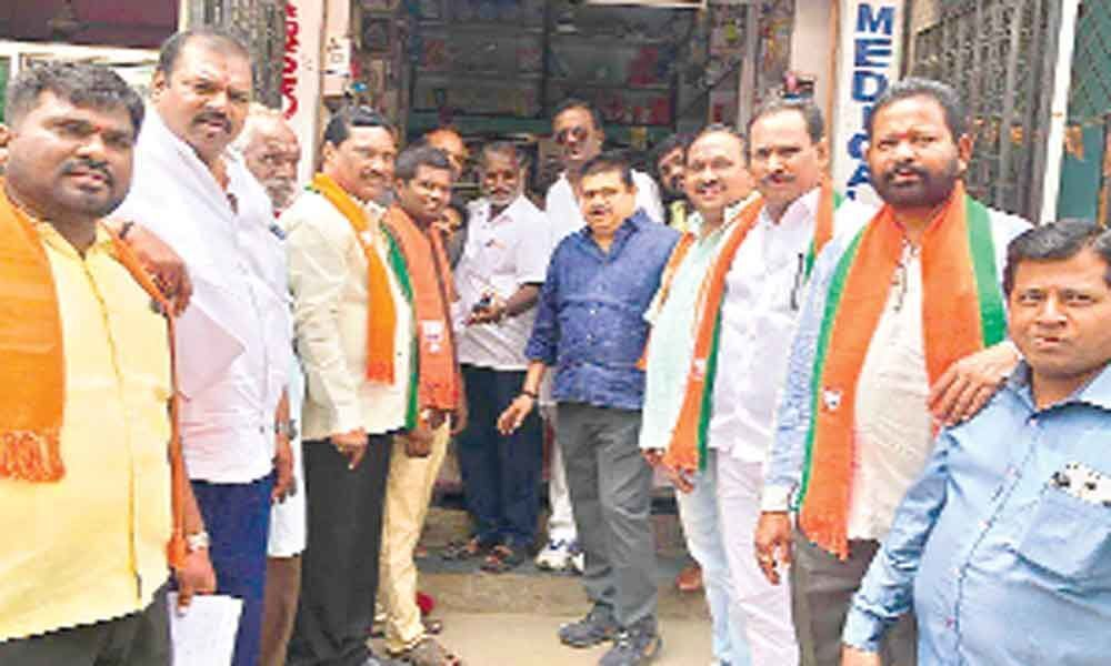 TRS govt not keeping promises: BJP MLC