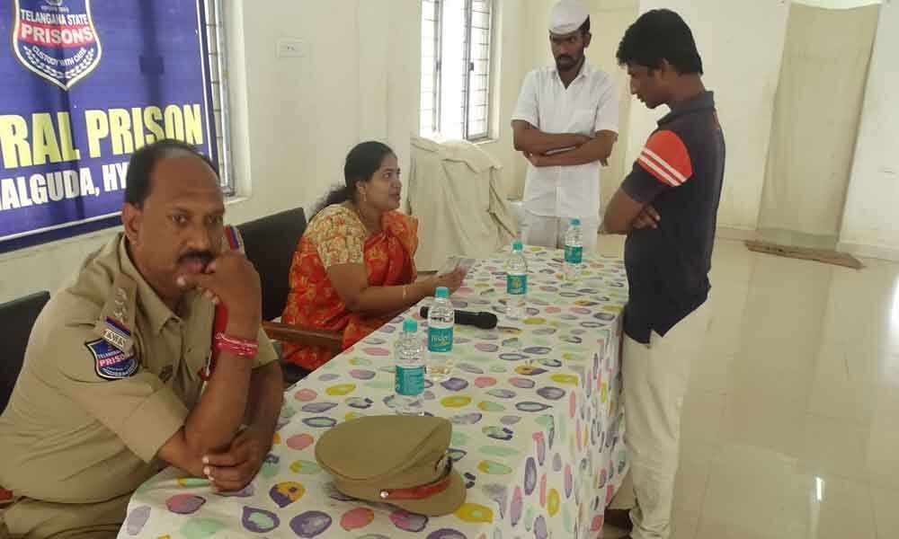 Legal awareness camp held at Central Prison