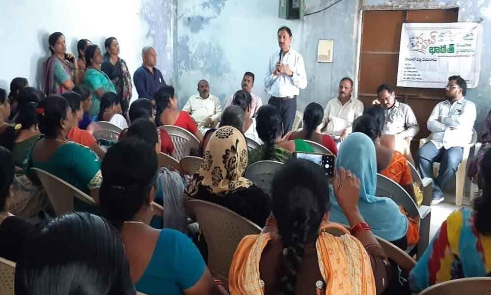 Swachh drive held for slum-dwellers