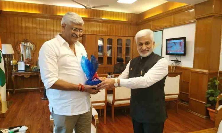 Andra Pradesh CM Jagan seeks central assistance for linking Godavari - Krishna through Telangana