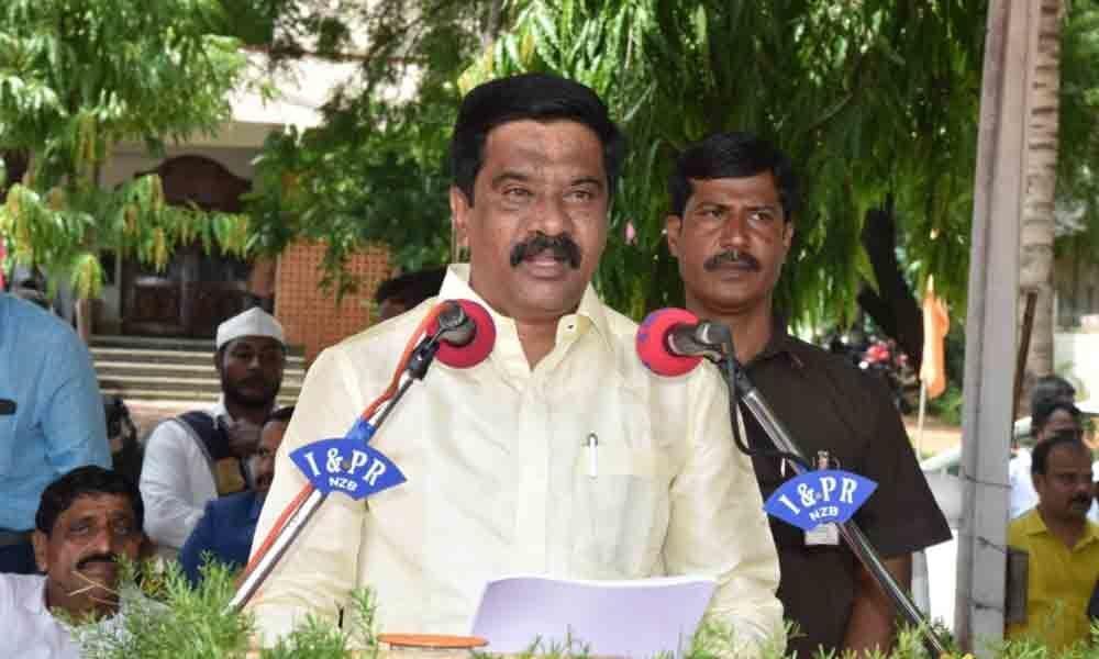 Bangaru Telangana through comprehensive development in Nizamabad