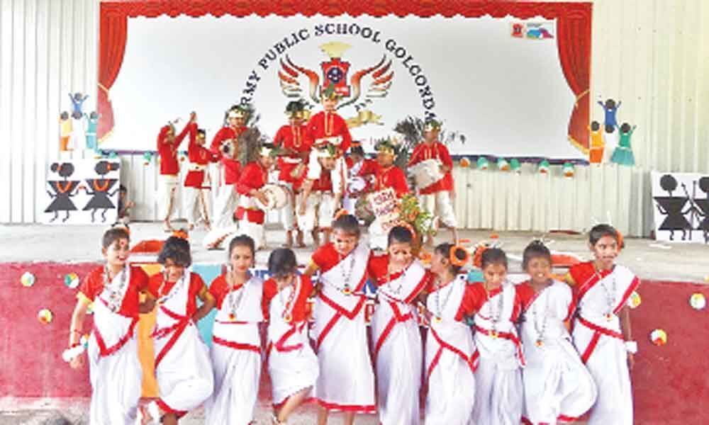 Army schools hold Independence Day fete grandly
