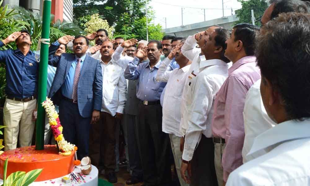 Water Board celebrates Independence Day
