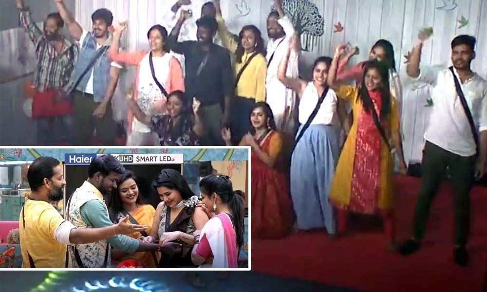 Bigg Boss Telugu: Rakshabandhan Celebrations