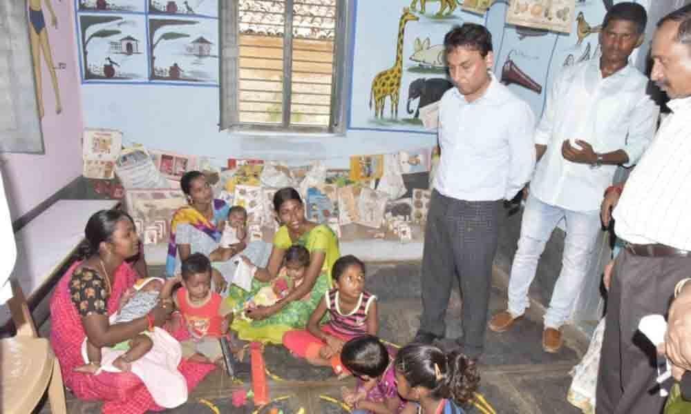Grama Darshini kicks off in Nalgonda