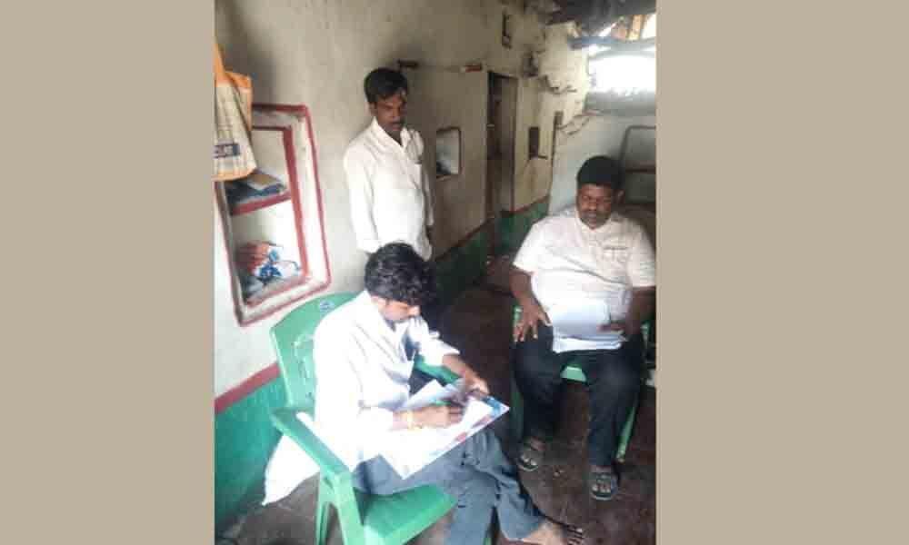 Ration shop seized in Kamareddy