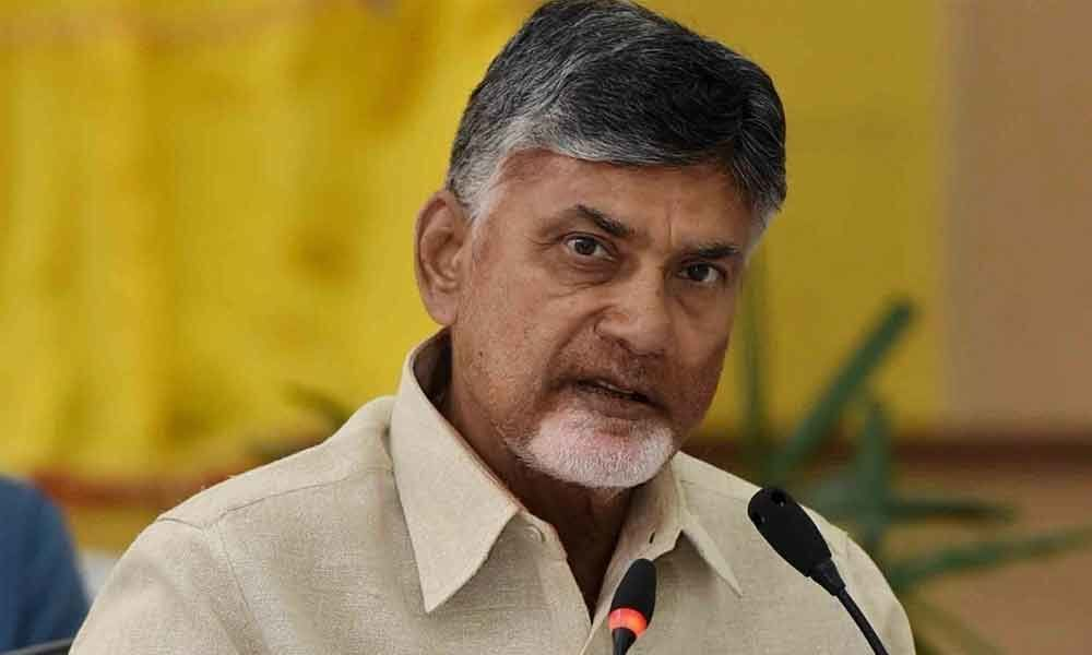 Government serves notices to Naidu, asks to vacate house