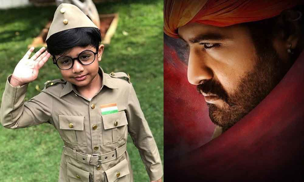 Pic Talk: NTR is Bheem, his son is Bose