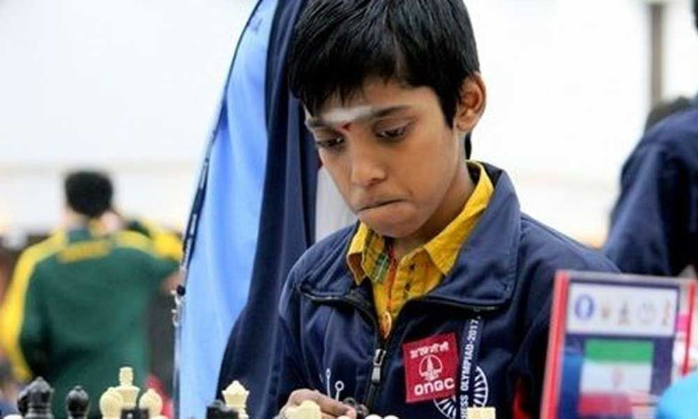 Praggnanandhaa to lead field at World Youth Chess