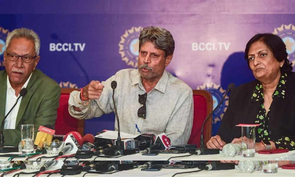 Kapil Dev-led CAC unlikely to be part of support staff selection: BCCI sources