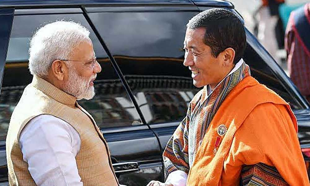 PM Modi holds talks with Bhutanese counterpart, launches Rupay card, signs MoUs