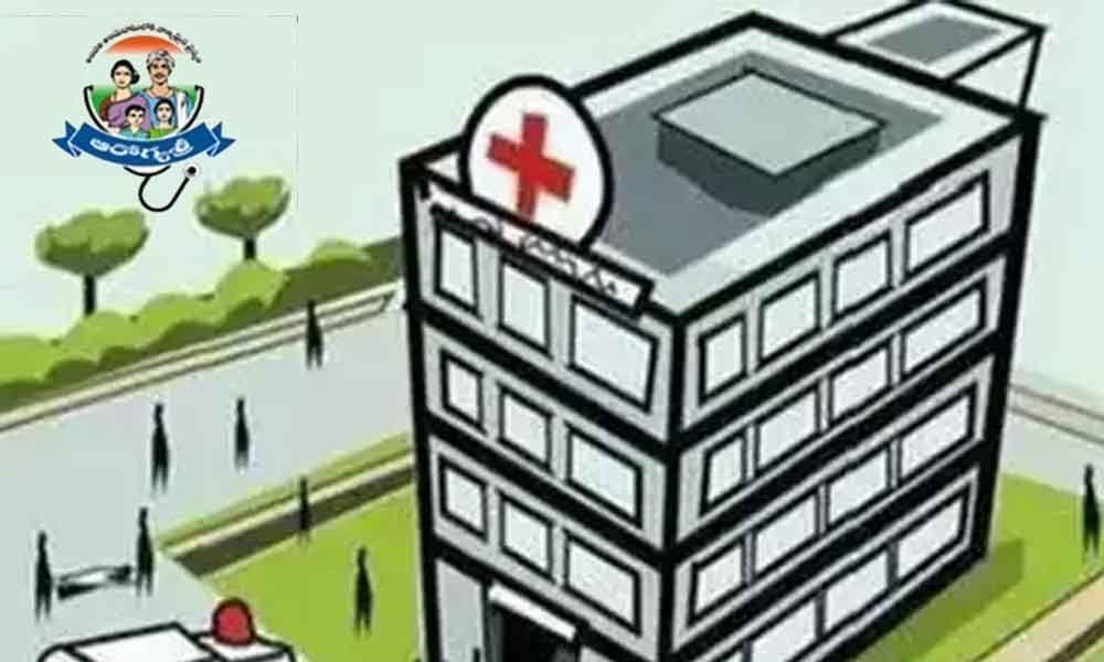 Super-specialty hospitals admit patients under Aarogyasri