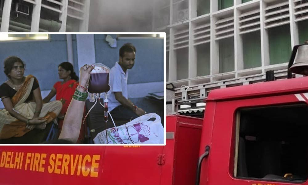 Patients scramble for treatment as fire breaks out in AIIMS