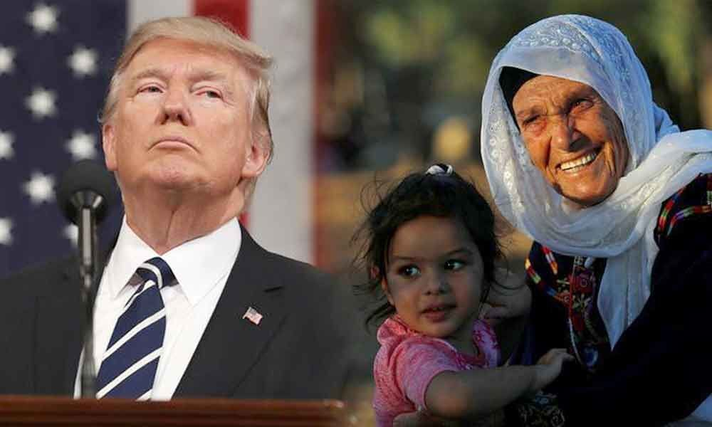 May god ruin Trump: Grandmother of US Congresswoman barred by Israel