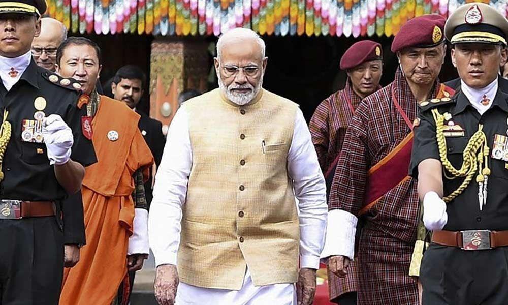 Narendra Modi seeks Bhutan