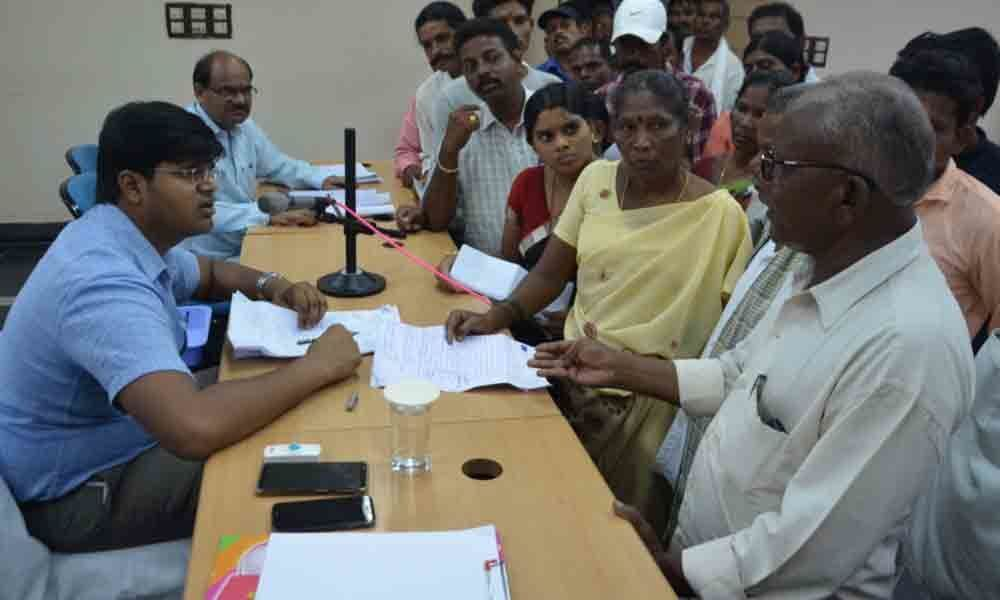 ITDA PO warns of action against officers bunking off Grievance Day programme in Bhadrachalam