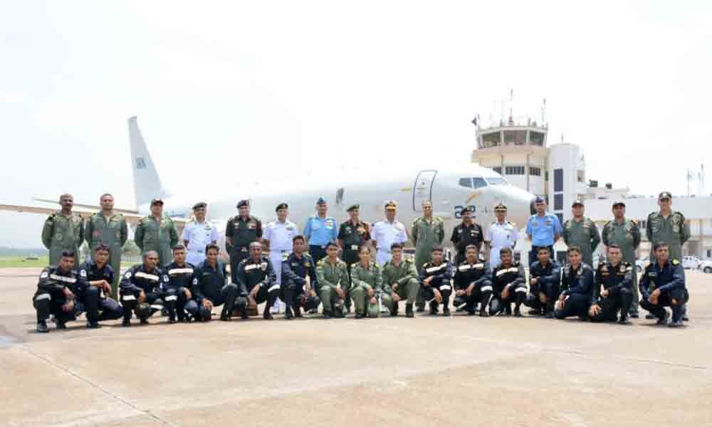 General Officer Commanding-in-Chief, Eastern Command  Air Marshal visit ENC in Visakhapatnam
